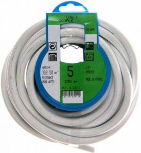 Profiplast PRP513211 Couronne de câble 5 m ho5vvf 3 g 2,5 mm Blanc de la marque Profiplast image 0 produit