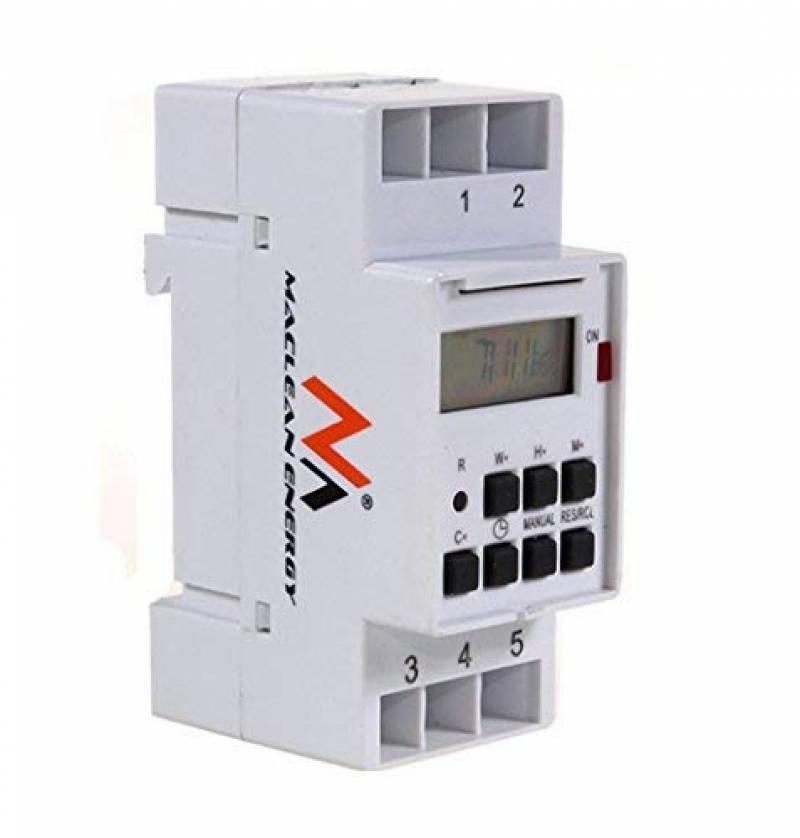 24V Minuterie programmable num/érique,Programmateur horaire /électrique hebdomadaire /à affichage num/érique Minuterie Num/érique Programmes quotidiens et hebdomadaires