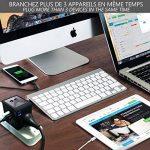 [PROMO] LOT DE 2 ADAPTATEURS VOYAGE (BLANC ET NOIR) - Compatible dans plus de 150 pays US/UK/EU/AUS - Adaptateur de voyage Tout-en-Un - Adaptateur universel de voyage - Adaptateur de voyage multifonction - Prise de voyage avec chargeur USB - 2 ports USB i image 3 produit