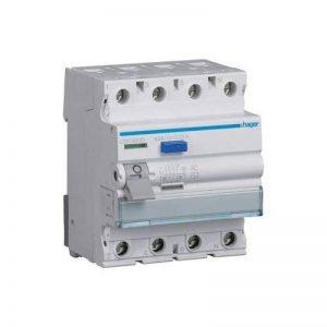 """'Protection Hager cdc463d Disjoncteur différentiel 4P 63A 30mA AC"""" de la marque Hager image 0 produit"""
