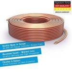 PureLink SP050-010 Câble d'enceinte 2 x 1.5mm² (99.9% OFC cuivre massif 0.20mm) Câble de haut-parleur Hifi, 10m, transparent de la marque PureLink image 1 produit
