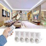 QLOUNI Lot de Télécommande Programmable française y compris 5 prises et 2 Télécommandes pour piloter lampe, téléviseur,wifi ect de la marque QLOUNI image 4 produit