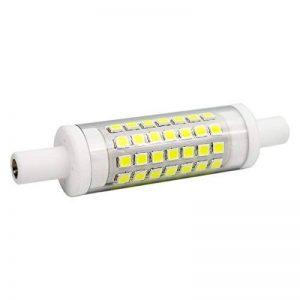 R7S 6W 78mm Ampoules LED en Céramique 70xSMD2835 Lumière du jour 6000K 480LM non compatible avec variateur d'intensité - J Type à double extrémité 60W R7s halogène ampoule de rechange de la marque Garselis image 0 produit