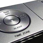 Radio réveil FM Réveil lumière de Nuit, Dual Alarms Contrôle de Gradient de luminosité Automatique, écran LED Blanc Grand Largeur 1,4 Pouce, Batterie Rechargeable d'entrée auxiliaire (iTOMA CKS507) … de la marque iTOMA image 4 produit