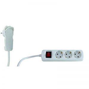 REV Ritter-Bloc avec interrupteur 3 modules 2 m Blanc 0012326114 de la marque REV Ritter image 0 produit