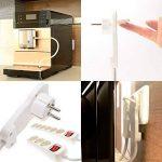 REV ritter multiprise avec connecteur plat 3 prises avec interrupteur blanc 2 m de la marque Menz Stahlwaren GmbH image 2 produit