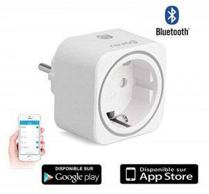 Revogi SmartPlug - prise Bluetooth 4 intelligente pilotable et programmable Connectée interrupteur sans fil - compteur - programmateur télécommandé - Domotique contrôle à distance par Smartphone Android 4.4 -Iphone Ios 7 SH-SPB012FR de la marque Cyber Exp image 0 produit