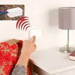 Revolt Interrupteur radio: bouton-poussoir Radio émetteur radio/interrupteur mural & récepteur sans fil (sans batterie) de la marque revolt image 2 produit