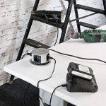 reVolt - Multiprise escamotable: prise de courant professionnelle rétractable, 4prises, ronde, diamètre de 100mm (prise de courant pour cuisine) de la marque revolt image 3 produit