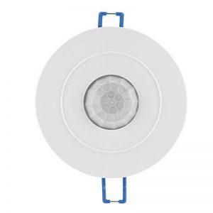 Richer-R Capteur PIR Interrupteur LED encastrer à 360 °, Automatique AC 85-265V Infrarouge Commutateur PIR Détecteur de Mouvements avec temporisation pour Les couloirs, Les sous-sols, Les entrepôts de la marque Richer-R image 0 produit