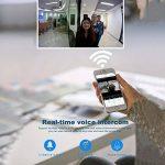 Ring Doorbell Video WiFi sans Fil Intelligent Sonnette Vidéo, Détection D'Intercom À Multifonction Smart Photographie Vidéo Sécurité Intercom Audio IPhone Samsung LG Sony Nokia etc de la marque Sunneey image 2 produit