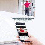 Ring Doorbell Video WiFi sans Fil Intelligent Sonnette Vidéo, Détection D'Intercom À Multifonction Smart Photographie Vidéo Sécurité Intercom Audio IPhone Samsung LG Sony Nokia etc de la marque Sunneey image 3 produit