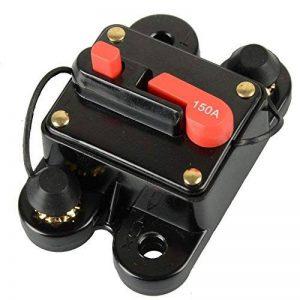 Rkurck Disjoncteur à fusible, pour moteur de voiture, moto, de hors-bord, audio stéréo. Relais invertisseur DC 12–24V de la marque RKURCK image 0 produit