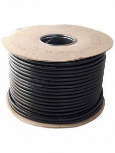 Rond Noir 2, 3Core Flex câble flexible 0,75mm, 1,0mm, 1,5mm 3182y Sel 3183Y Rouleau complet et personnalisé Cut longueurs disponibles de la marque Ali's DIY image 0 produit