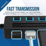 Sabrent 4-Port USB 3.0 Hub avec des commutateurs et des voyants d'alimentation individuels (HB-UM43) de la marque Sabrent image 3 produit