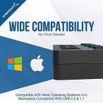 Sabrent 4-Port USB 3.0 Hub avec des commutateurs et des voyants d'alimentation individuels (HB-UM43) de la marque Sabrent image 4 produit