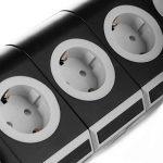 SAFEMORE Tour Multiprise Parasurtenseur Parafoudre 15 Prises avec 2 USB Ports de la marque SAFEMORE image 2 produit