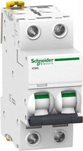 Schneider A9F93203 Disjoncteur iC60L 2P 3A B-caractère 100 kA de la marque Schneider image 0 produit