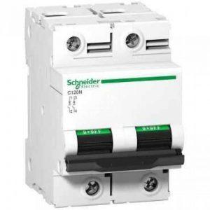 Schneider Elec PBT–Dit 2310–disjoncteur magnéto-thermique C120N 2pôles 80A curva-b de la marque Schneider elec image 0 produit