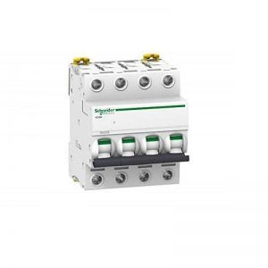 Schneider Electric 16774Inter coupe-circuits I Clic, 4Pole, 32A, 415V AMPS, Blanc de la marque Schneider Electric image 0 produit