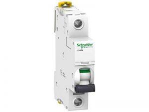 Schneider electric a9F74101iC60N disjoncteur, acti9, 1p, 1A, Courbure C, 50/60Hz, Blanc de la marque Schneider Electric image 0 produit