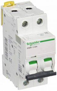Schneider Electric a9°F74220IC60N disjoncteur acti92P, 20A, courbure C, 50/60HZ, Blanc de la marque Schneider Electric image 0 produit