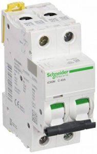 Schneider Electric a9°F74240IC60N disjoncteur acti92P, 40A, courbure C, 50/60HZ, Blanc de la marque Schneider Electric image 0 produit