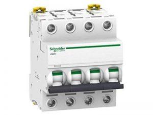 Schneider Electric A9F74101 Interrupteur automatique magnétothermique iC60n, 1P, 1 A Courbe C Blanc de la marque Schneider image 0 produit