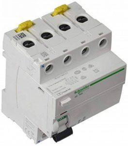 Schneider electric a9r35440IID Interrupteur différentiel, classe Si, sélectif, 300mA de sensibilisation, 4P, 91mm hauteur x 72mm largeur x 73.5mm profondeur, 40A courant, blanc de la marque Schneider Electric image 0 produit