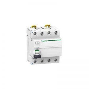 Schneider electric a9r35463IID Interrupteur différentiel, classe Si, sélectif, 300mA de sensibilisation, 4P, 91mm hauteur x 72mm largeur x 73.5mm profondeur, 63a courant, blanc de la marque Schneider Electric image 0 produit