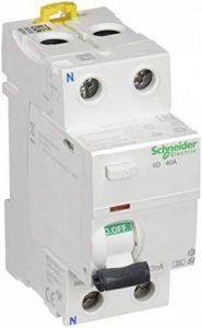 Schneider electric a9r61240Interrupteur différentiel IID, 2p, 40A, 30Ma, classe a si de la marque Schneider Electric image 0 produit