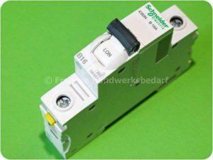 Schneider electric disjoncteur 16A b 1P iC60N a9F03116 acti9 disjoncteur 3606480439698 de la marque Schneider image 0 produit