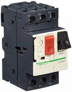 Schneider Electric GV2ME08 GV2ME Disjoncteur Moteur, Déclencheur Magnéto-Thermique, Bouton-Poussoir, 3P, 2.5-4 A, 690 VAC, 50/60 Hz de la marque Schneider Electric image 0 produit