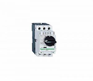 Schneider Electric GV2P05 GV2P Disjoncteur Moteur, Déclencheur Magnéto-Thermique, Bouton Rotatif, 3P, 0.63-1 A, 690 VAC, 50/60 Hz de la marque Schneider Electric image 0 produit