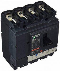 Schneider Electric Lv430651Nsx160°F TM-D Disjoncteur Compact, 4P Bâtons, 4d, 690Vac, 50/60Hz, 125ampères de la marque Schneider Electric image 0 produit