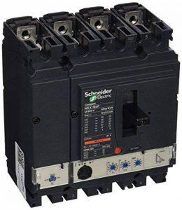 Schneider Electric Lv430780Nsx160°F Disjoncteur Compact, Micrológico 2.2, 4P Bâtons, 4d, 690Vac, 50/60Hz, 160ampères de la marque Schneider Electric image 0 produit