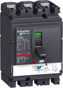 Schneider Electric Lv430830Nsx160°F MA Compact Disjoncteur, 3P Bâtons, 3d, 690Vac, 50/60Hz, 150ampères de la marque Schneider Electric image 0 produit