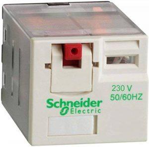 Schneider Electric Rpm31p7Relais 3Co 15A 230Vac, puissance Relais embrochable–Zelio RPM–3C/O–230V AC–15A de la marque Schneider Electric image 0 produit