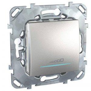Schneider Electric SC5MGU551530ZD Mécanisme variateur poussoir Alu UNICA Top de la marque Schneider Electric image 0 produit