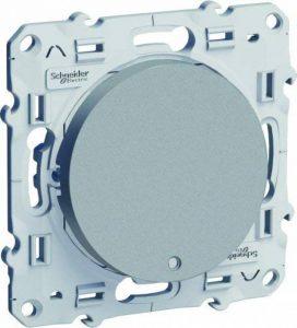 Schneider Electric SC5S53A263 Interrupteur ou Va et Vient lumineux Odace 230 V Alu de la marque Schneider Electric image 0 produit