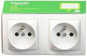Schneider Electric SC5SHN0262473P Alrea Double Prise de courant 2 P + T Connexion rapide de la marque Schneider Electric image 0 produit