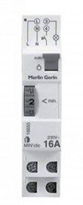 Schneider Electric SC5SHN0316655 Min'clic Minuterie 1 à 7 Minutes avec 1 module Blanc de la marque Schneider Electric image 0 produit