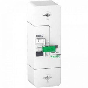 SCHNEIDER - Resi9 DB60 Disjoncteur Branchement 1P+N 15/45A 500mA selectif SCHNEIDER R9FS645 - SCH-R9FS645 de la marque Schneider Electric image 0 produit