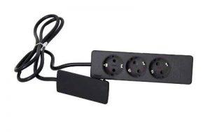 Schulte 151000156100 Evoline Multiprise schuko Noir de la marque Schulte image 0 produit