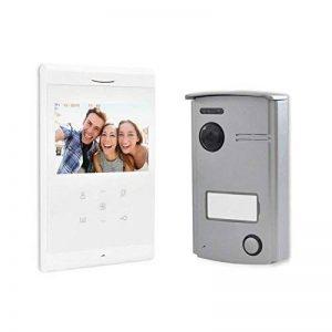 SCS Sentinel Interphone Vidéo Filaire VisioDoor 4.3, Blanc de la marque SCS Sentinel image 0 produit