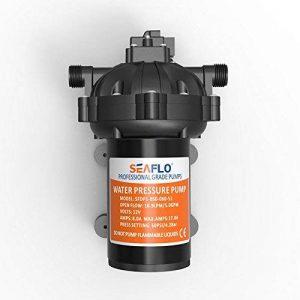 Seaflo Pompe à eau haute pression 18.9l/min 12V 5.0GPM 60PSI avec interrupteur automatique pour Marine RV Bateau automobile de la marque Seaflo image 0 produit