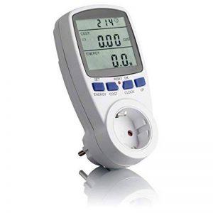 SEBSON 0025820112, compteur de consommation énergétique et compteur d'énergie, max. 3680W, prise de courant, affichage, mémoire, courant tarif beliebig de la marque sebson image 0 produit