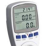SEBSON 0025820112, compteur de consommation énergétique et compteur d'énergie, max. 3680W, prise de courant, affichage, mémoire, courant tarif beliebig de la marque sebson image 3 produit