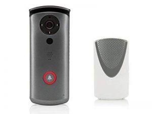 SEC24 DID502 - Vidéo Sonnette avec la vidéo de qualité HD - d'Interphone - Motion detector - WiFi - sans fil - avec batterie - avec cloche intérieure mobile - Pour les appareils iOS et Android de la marque SEC 24 image 0 produit