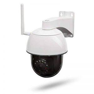 SecuFirst CAM214 HD 1080P Dôme Caméra de Surveillance IP Caméra WiFi sans Fil PTZ Pan / Tilt / Zoom Surveillance de Sécurité à extérieur IP66 - Détection de Mouvement, Vision Nocturne - Images 128 Mo de la marque SecuFirst image 0 produit